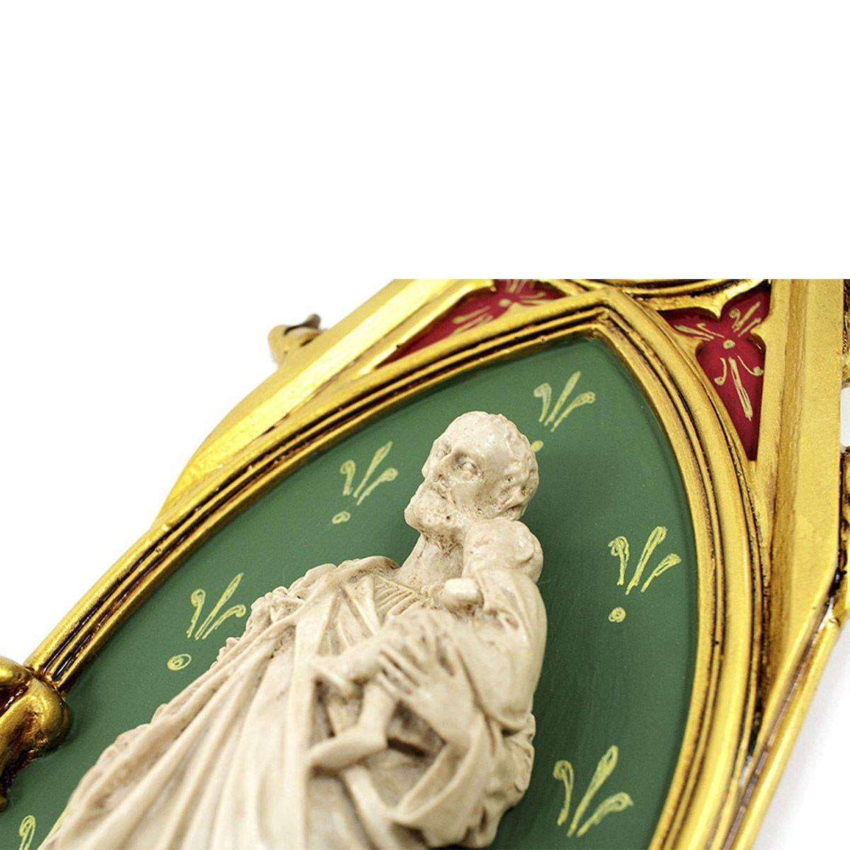Oratório São José em resina - 46cm