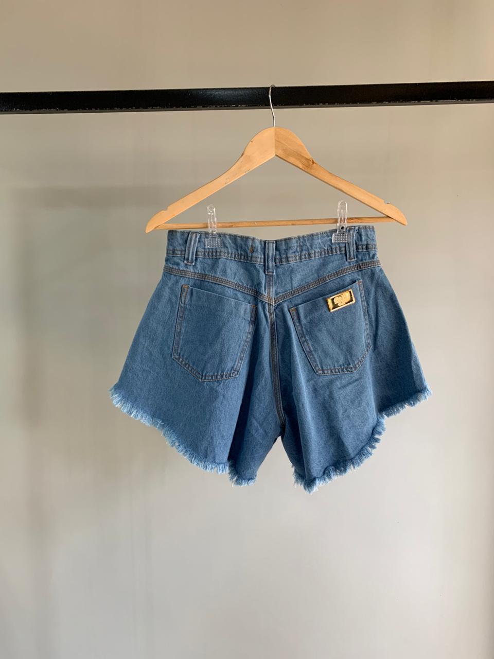 Short Godê Destroyed Jeans