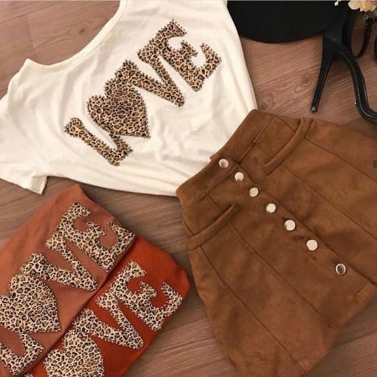 T-Shirt Love | Cores variadas