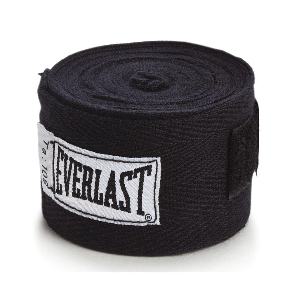 Bandagem Everlast Boxing Preta