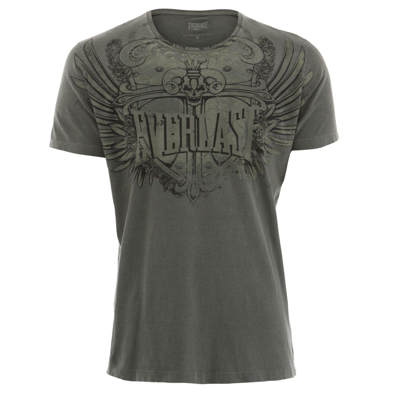 Camiseta Everlast algodão caqui