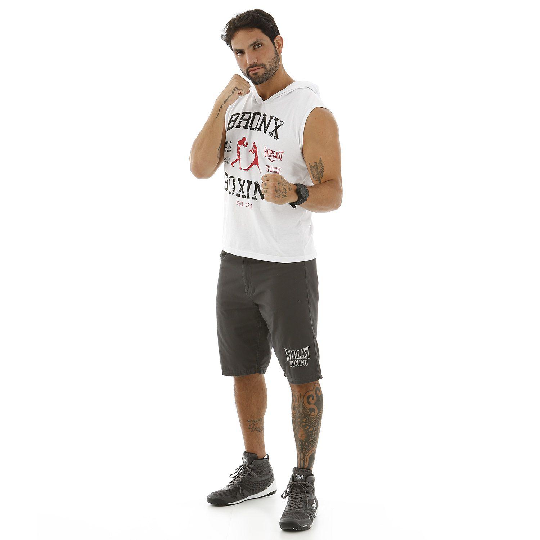 Camiseta Everlast machão branca Bronx Boxing - Strike Martial Arts -  Representante Oficial Adidas Taekwondo no ... a288b862b734b