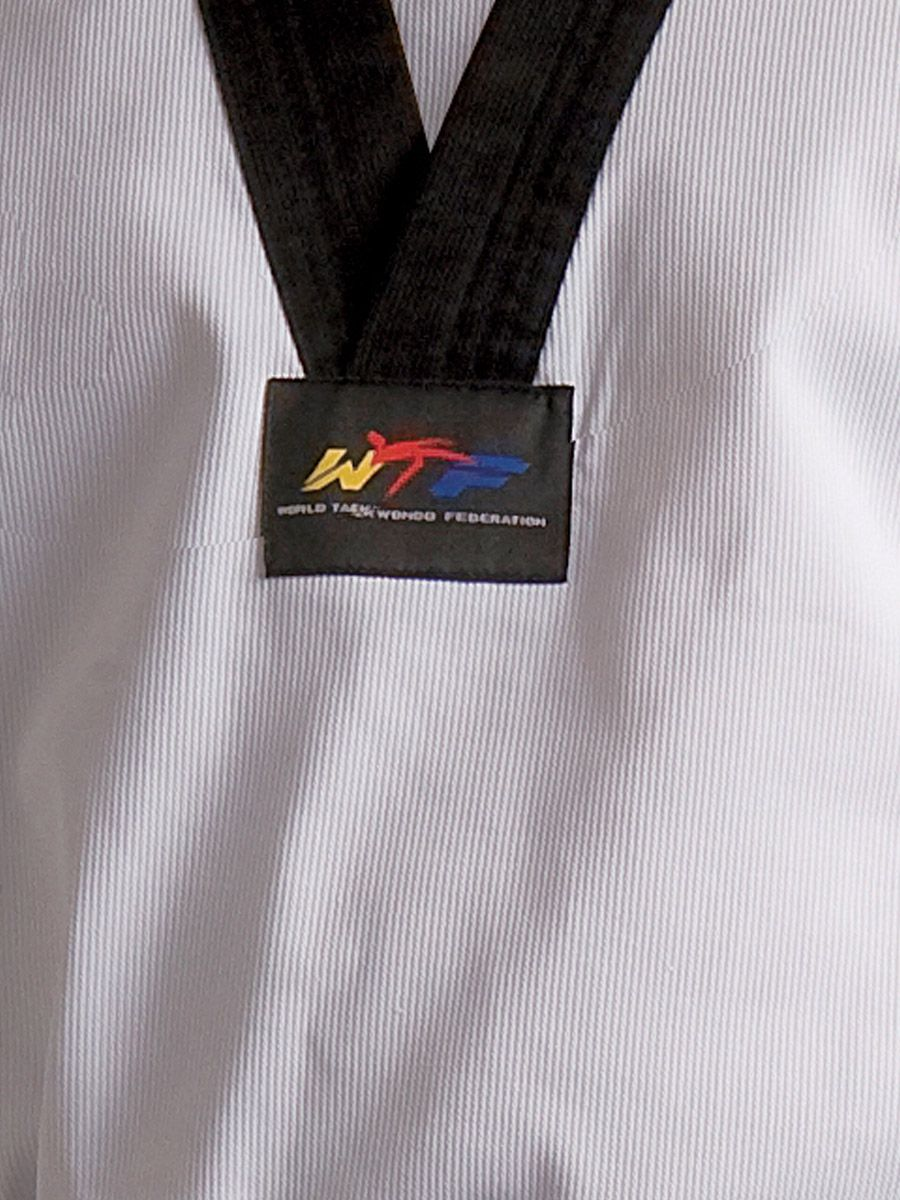 Dobok Adidas Taekwondo Adiclub 3S Canelado WT