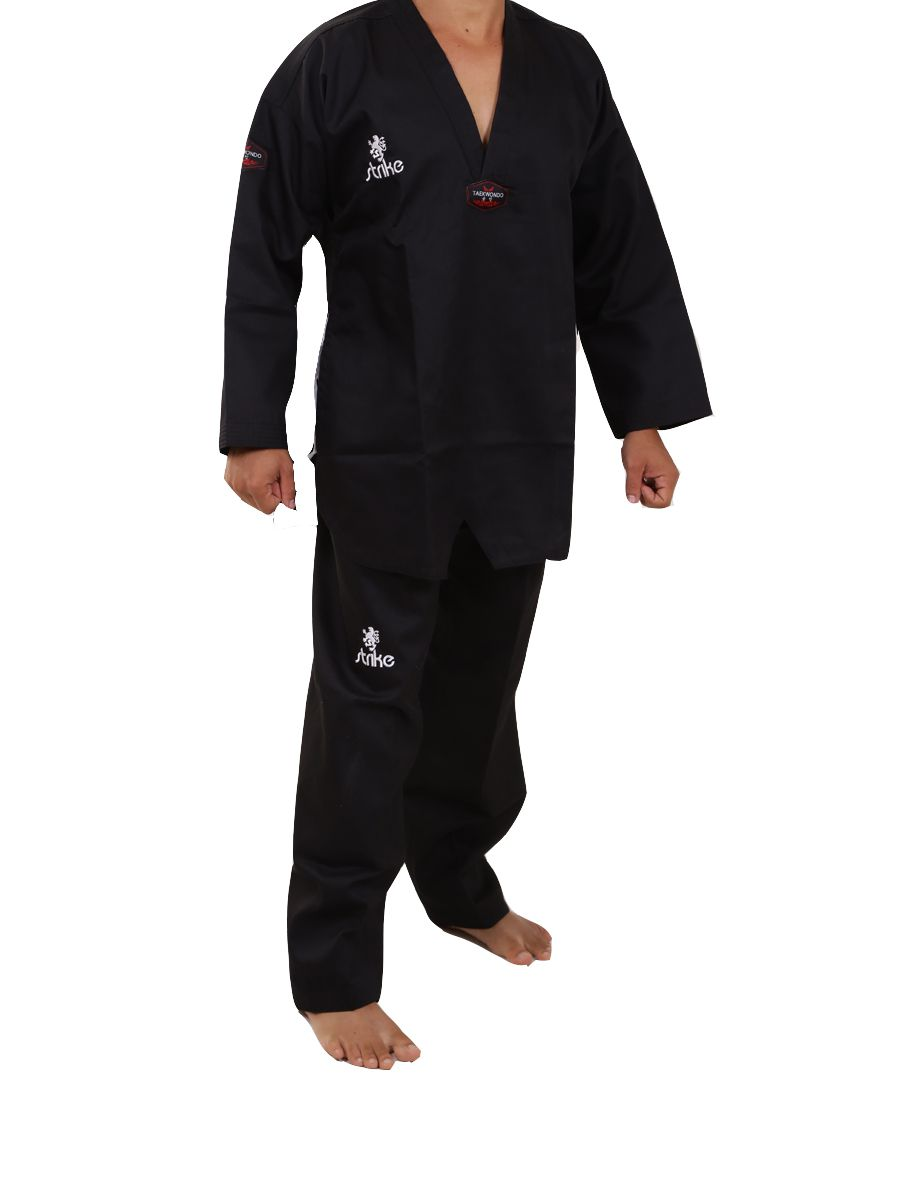 Dobok Strike Taekwondo Master Black