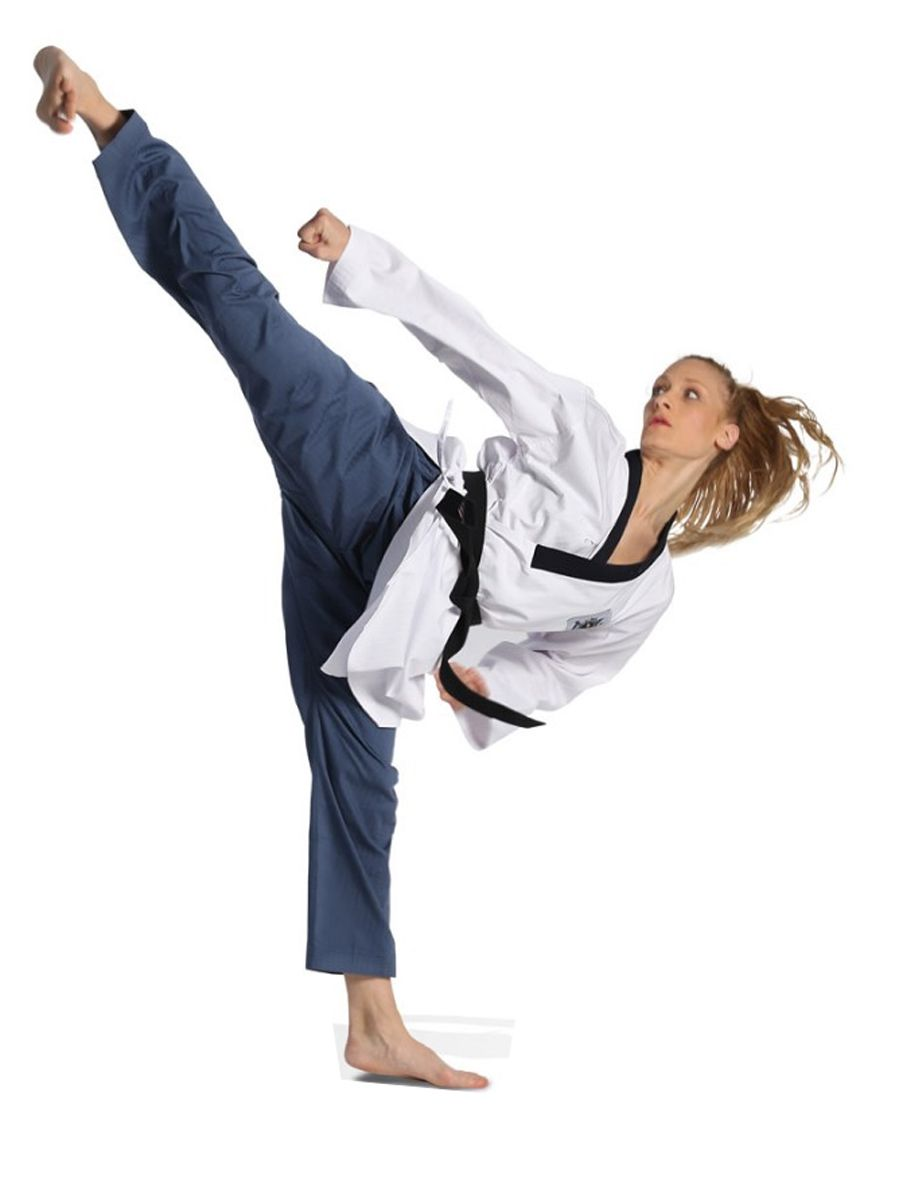 Dobok Strike Taekwondo Poomsae Feminino CBTKD
