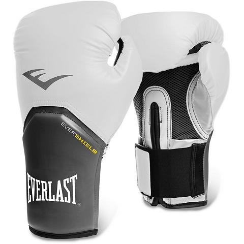 Luva de boxe Everlast Pro Style Branca