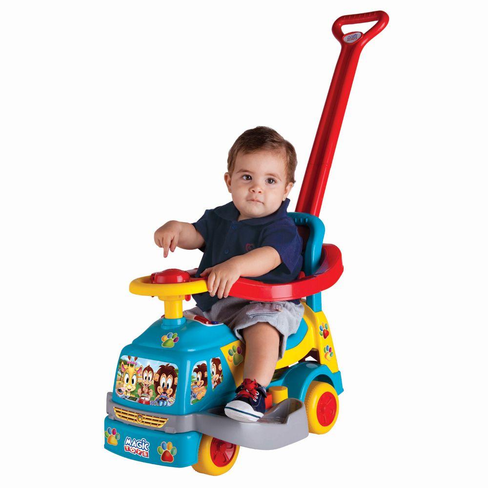 Andador Bichos com Aro Azul 1014 Magic Toys