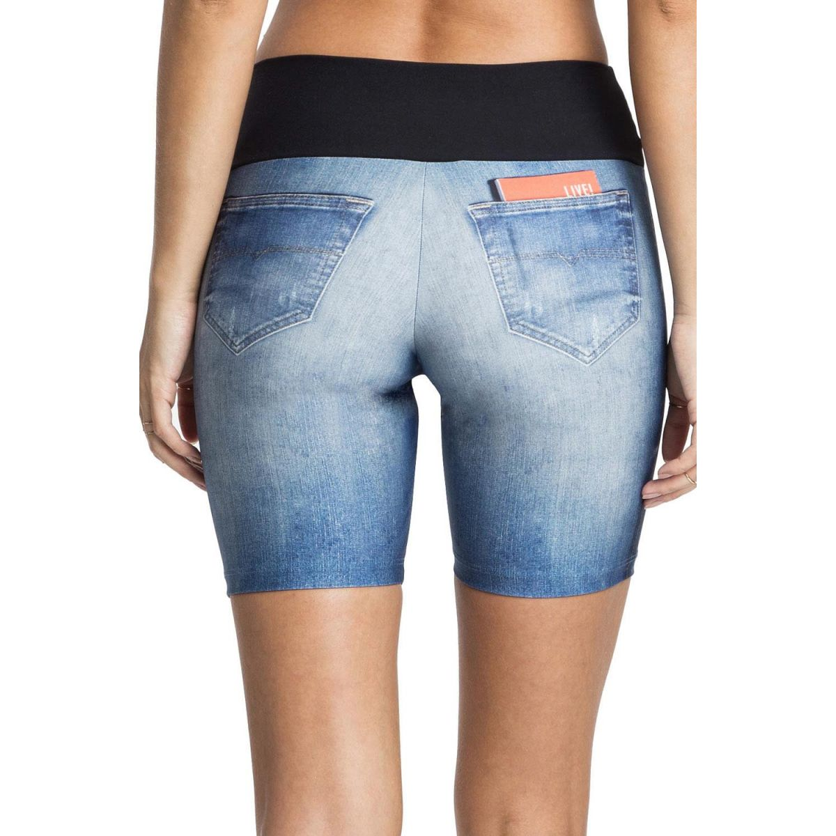 Bermuda Jeans Original Basic Live