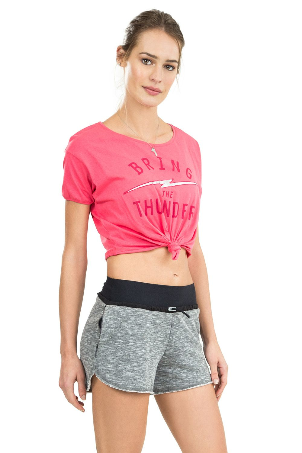 Blusa Cropped Punch Live