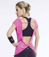 Blusa Rosa World Fitness