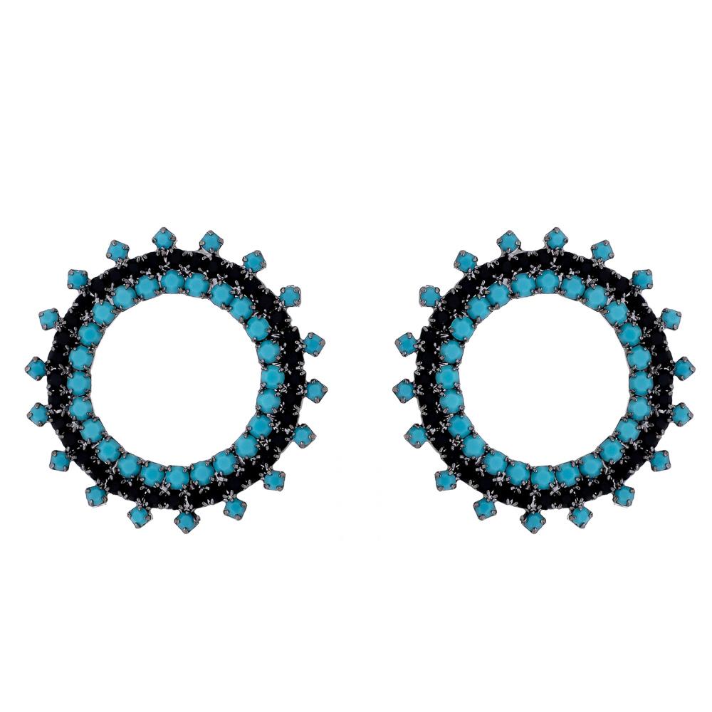 Brinco Circle - Semi Joia