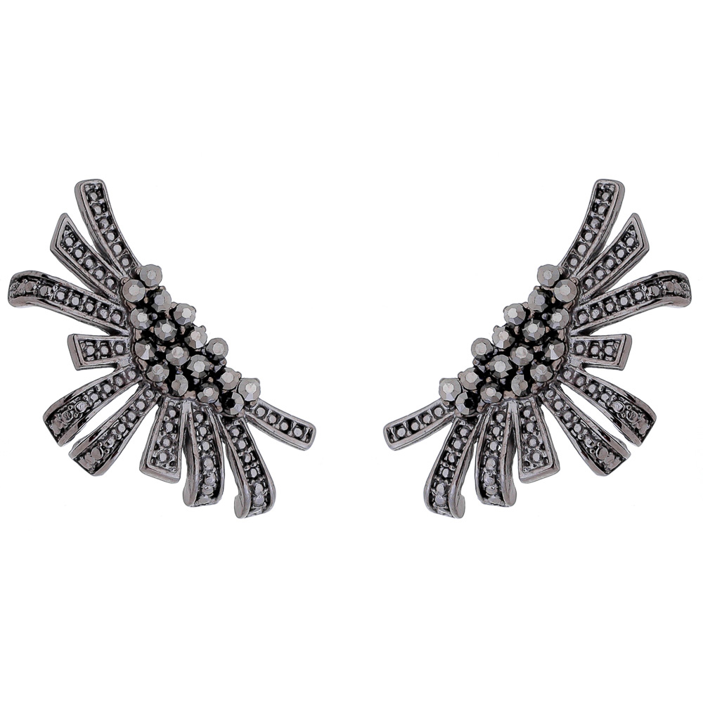 Brinco Ear Cuff Bolt - Semi Joia