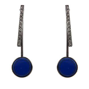 Brinco Ear Jacket Azul