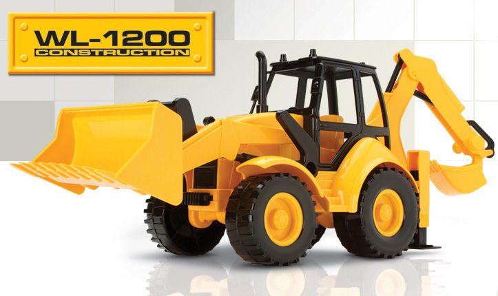 Brinquedo Retroescavadeira WL1200 Construction 6810 Silmar
