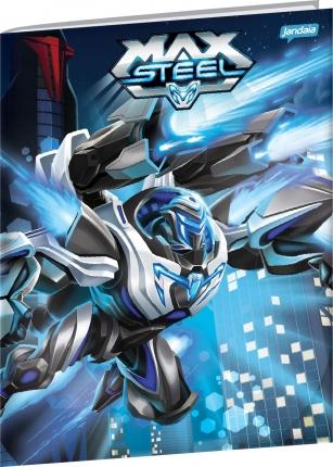 Caderno Brochura Universitário Max Steel 2  Jandaia