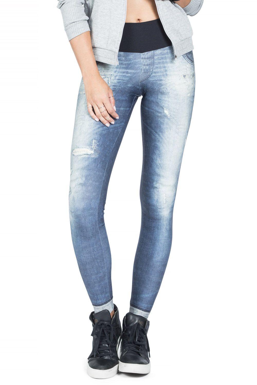 Calça Fusô Jeans Light Blue Live