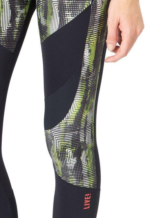 Calça Legging Body Rise Glow Live