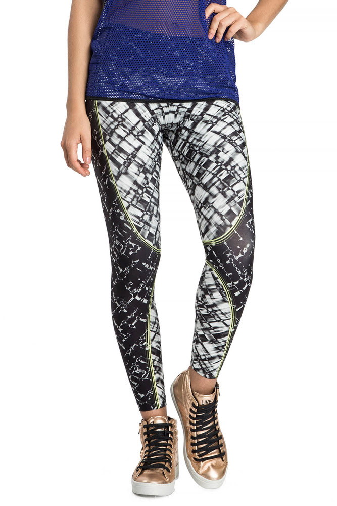 Calça Legging Flex Texture Team Fit Live