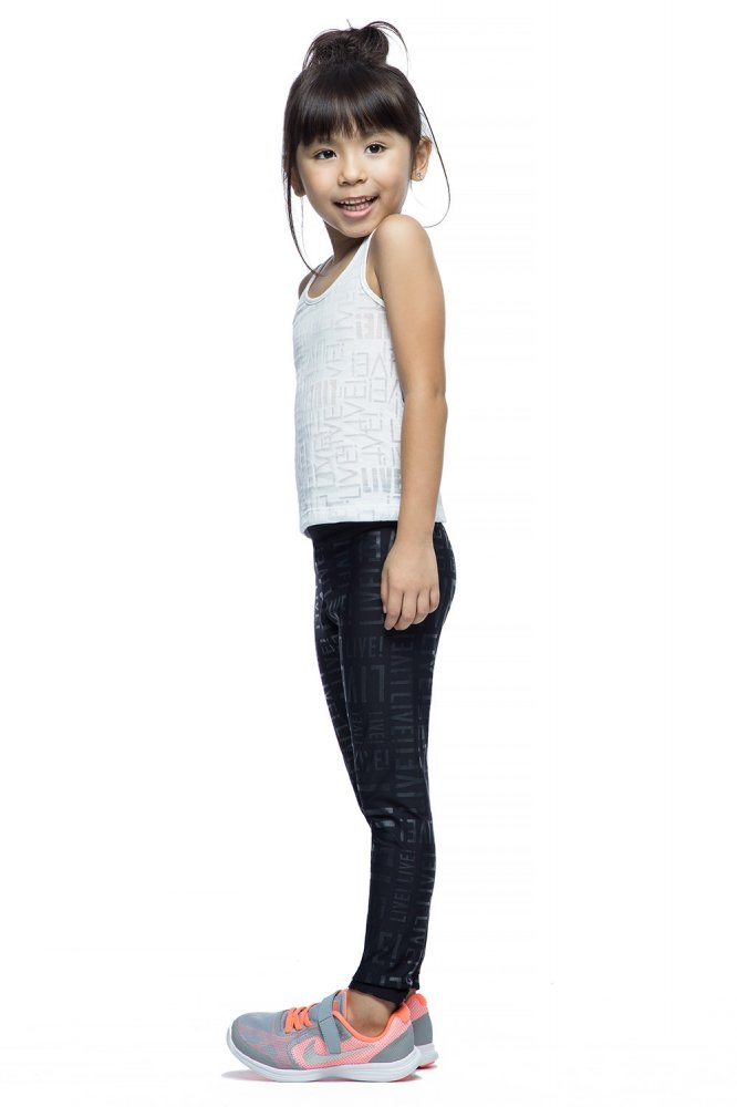 Calça Legging Infantil Live Preta