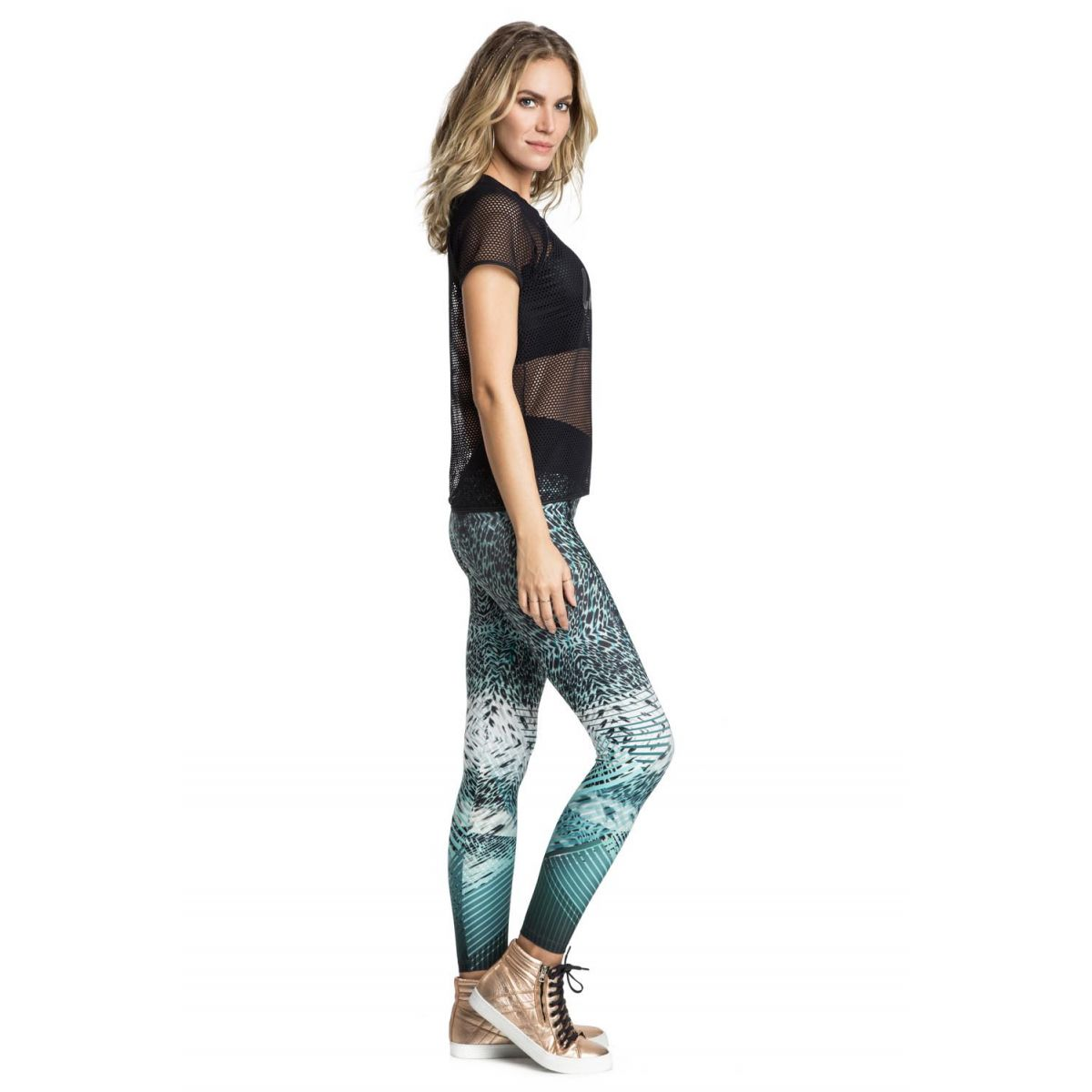 Calça Legging Power Science Team Fit Live