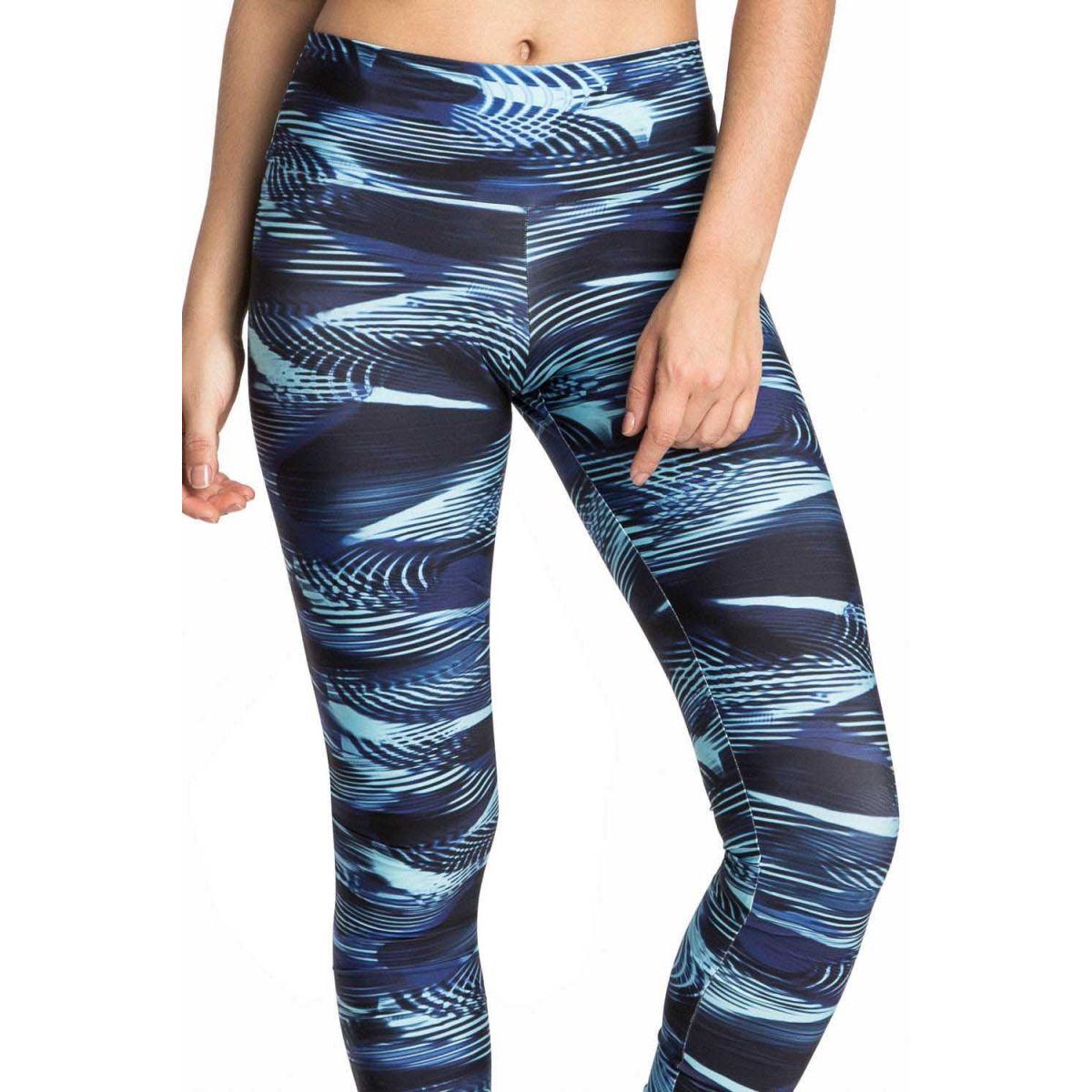 Calça Legging Blue Waves Gym Live