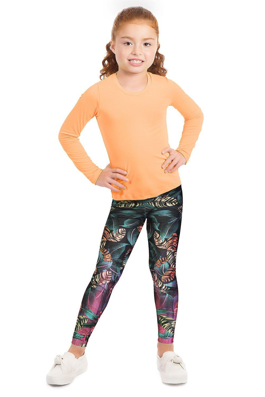 Calça Legging Race Glow Live Infantil