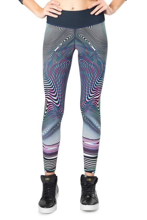 Calça Legging Reversible Optical Glow Live
