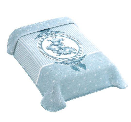 Cobertor Premium Estampado Camafeu Azul Colibri