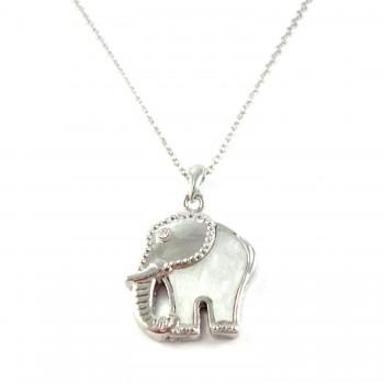 Colar Elefante Madrepérola