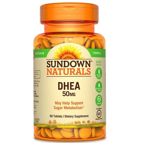DHEA 50mg (60 tabs) Sundown Naturals