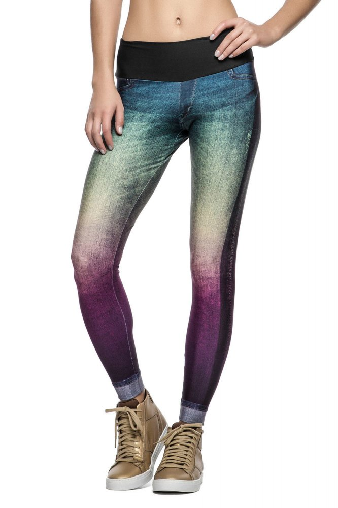 Calça Fusô Rainbow Jeans Live