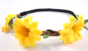 Headband Flores Gerbera