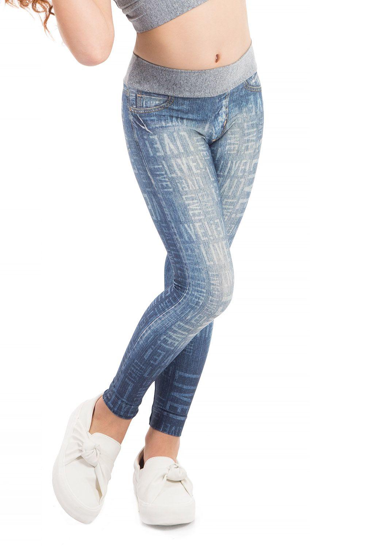 Legging Jeans Flex Kids Live