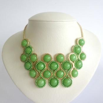Maxi Colar Green