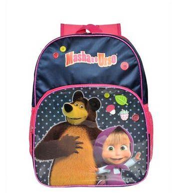 Mochila Escolar Masha e o Urso Santino