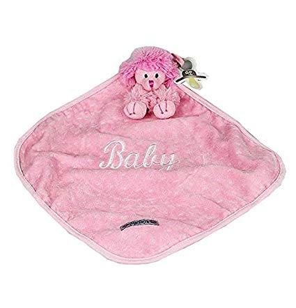 Naninha Rosa Para Bebê Cachorra Lili Cetim Zip Toys