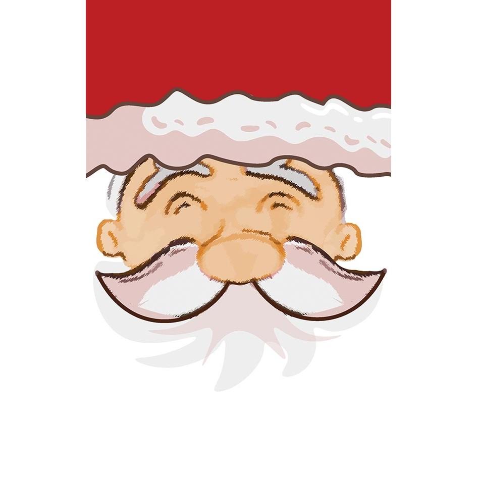 Pano de Copa Natal Papai Noel Lepper