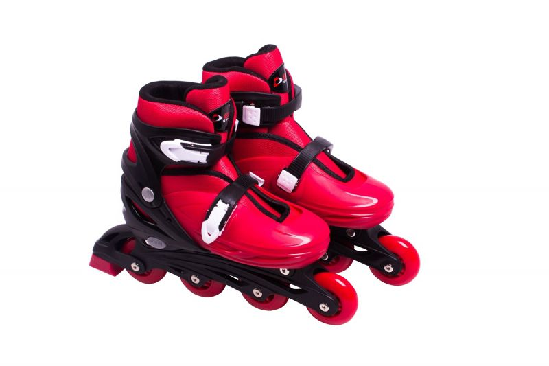 Patins In-Line Rollers Radical Vermelho G 37 a 40 Bel Fix