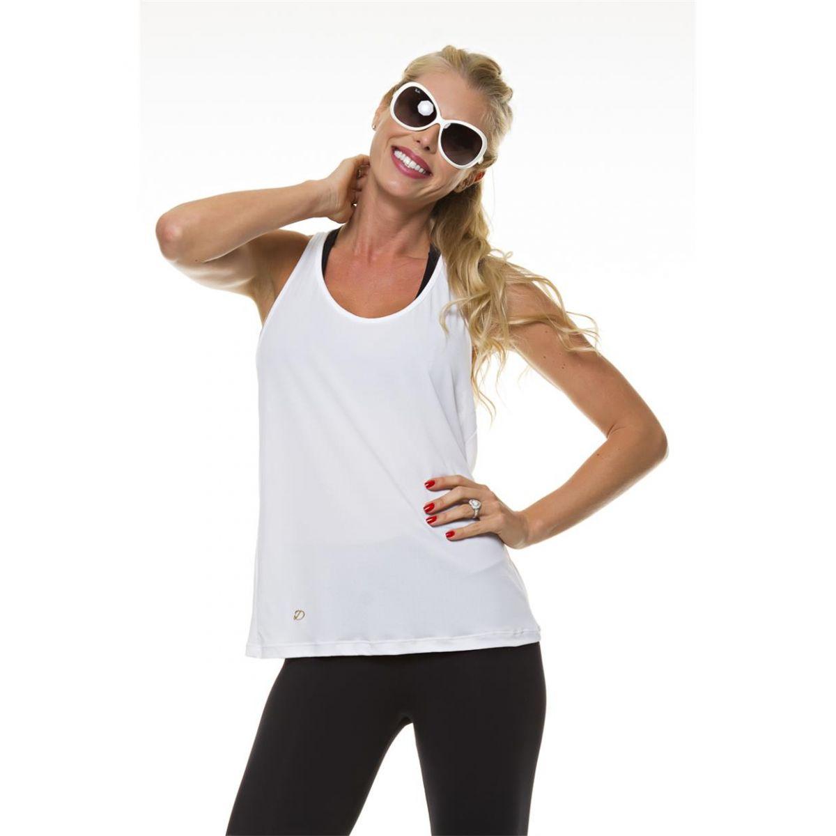 Regata Branca Nadador Diva Fitness