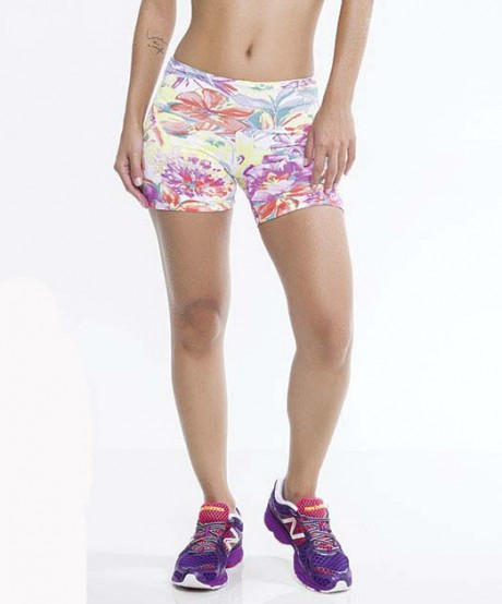 Short Fitness Flores