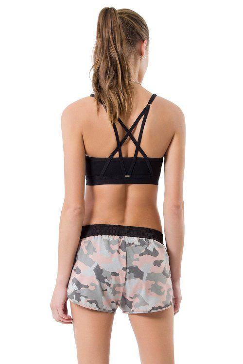 Shorts Bella Camouflage Pink Live