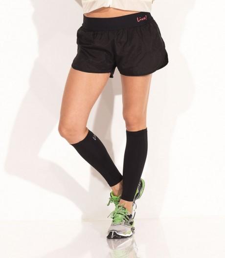 Shorts de Corrida Preto Live