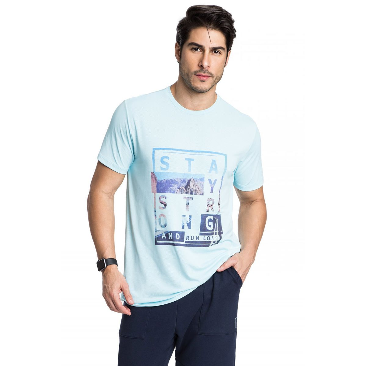 Tee-Shirt Strong Menswear Live
