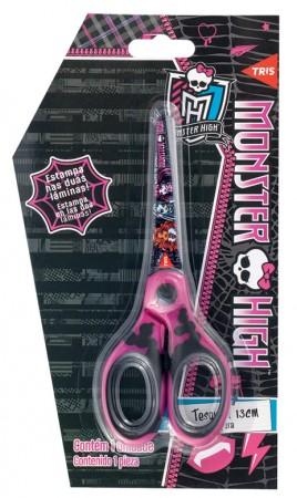 Tesoura Escolar Monster High Tris