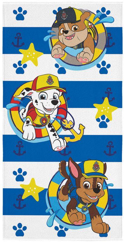 Toalha de Banho Aveludada Estampada Patrulha Canina 061364 Lepper