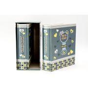 Álbum duplo infantil BLUE BEAR para 80 fotos 10x15 cm