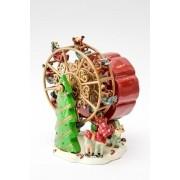 Caixa de música natalina roda gigante natal
