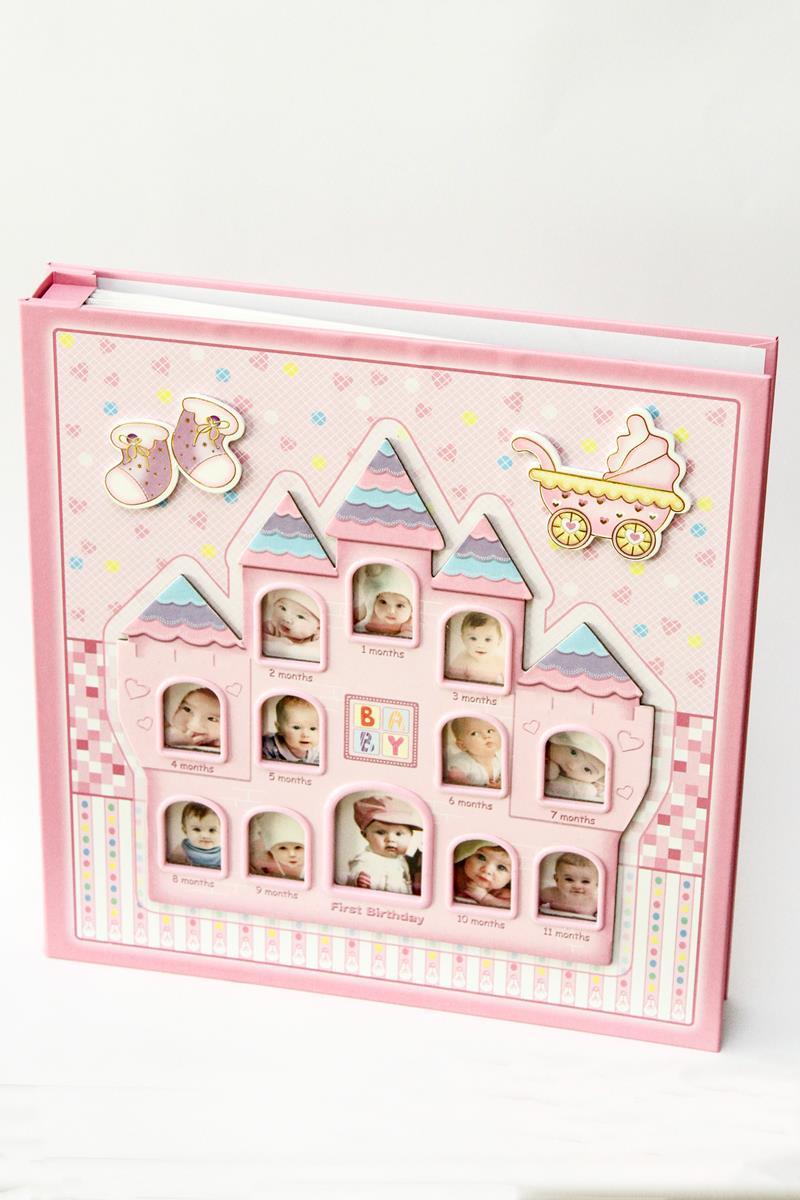 Álbum de fotos Meu primeiro aninho Rosa - 280 fotos 10x15