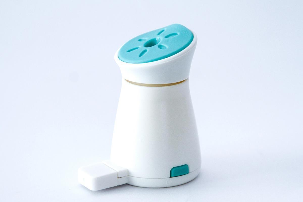 Aromatizador difusor umidificador azul contra insetos  aromaterapia