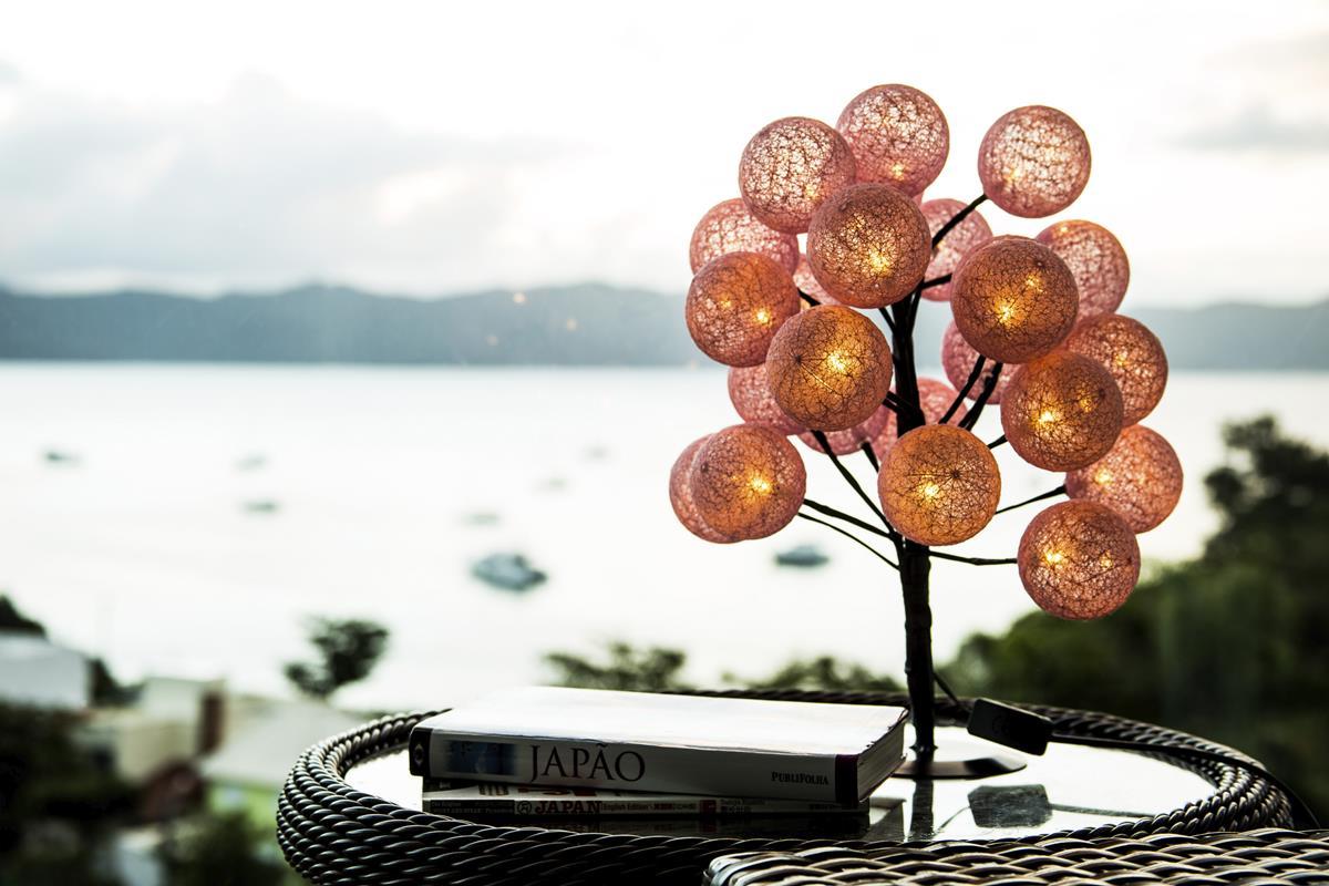 Árvore luminária LED bonsai abajur 24 bolinhas Personalizada Bivolt